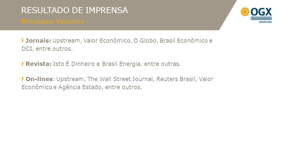 PRINCIPAIS DESTAQUES Jornal 16/08/12 07/08/12