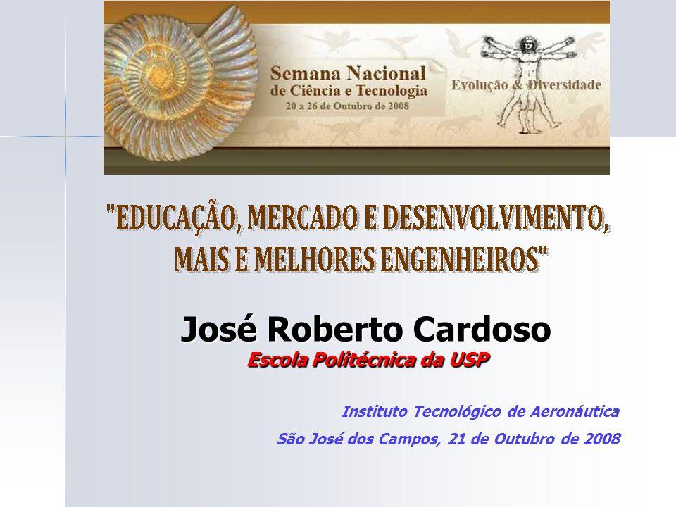 José Roberto Cardoso Escola Politécnica da USP Instituto Tecnológico de Aeronáutica São José dos Campos, 21 de Outubro de 2008