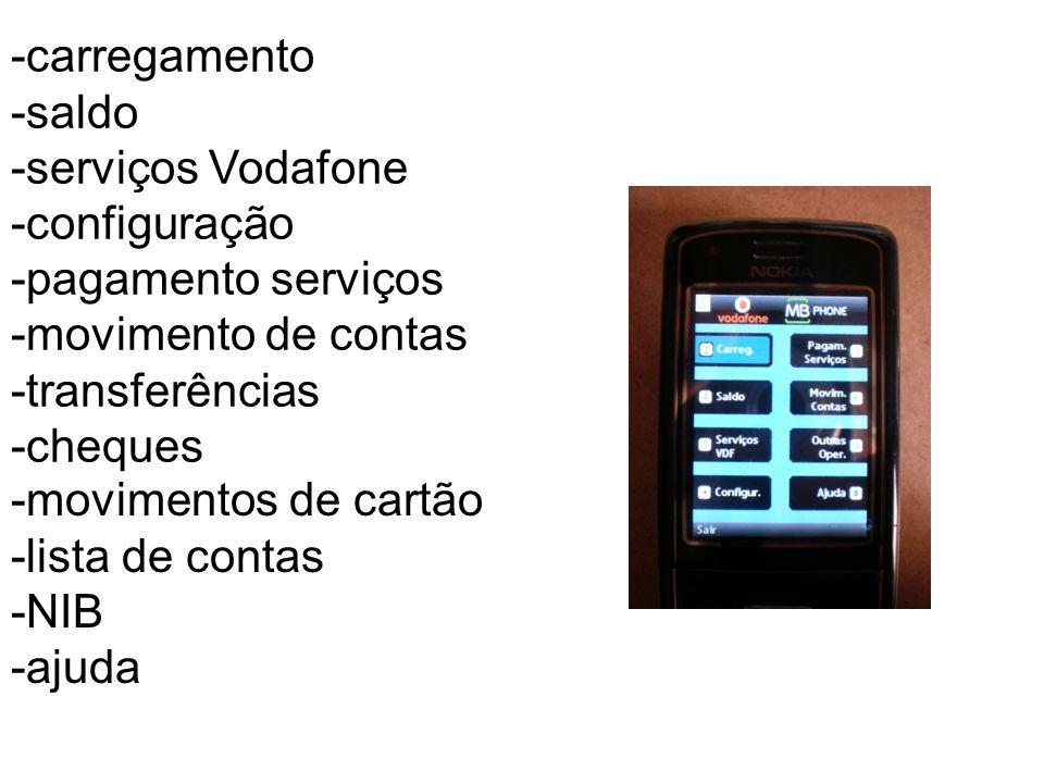  Telemultibanco Permite, mediante activação, o acesso a várias funções da nossa conta bancária.