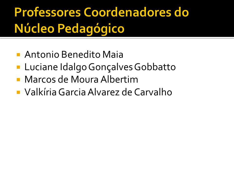  Antonio Benedito Maia  Luciane Idalgo Gonçalves Gobbatto  Marcos de Moura Albertim  Valkíria Garcia Alvarez de Carvalho