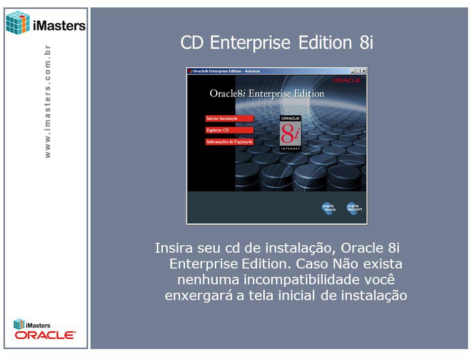 Welcome Oracle World Vamos começar a instalação, clique em próximo.