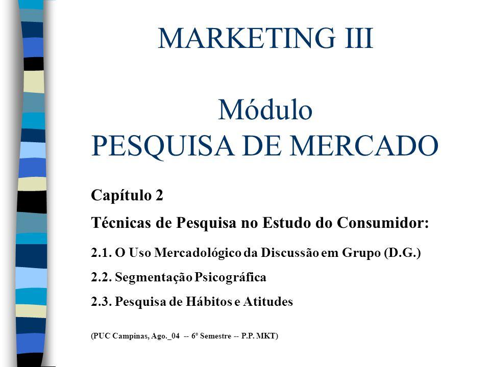 Bibliografia Básica AAKER, David et alii.Pesquisa de Marketing.