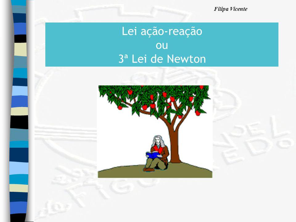 Filipa Vicente Lei ação-reação ou 3ª Lei de Newton
