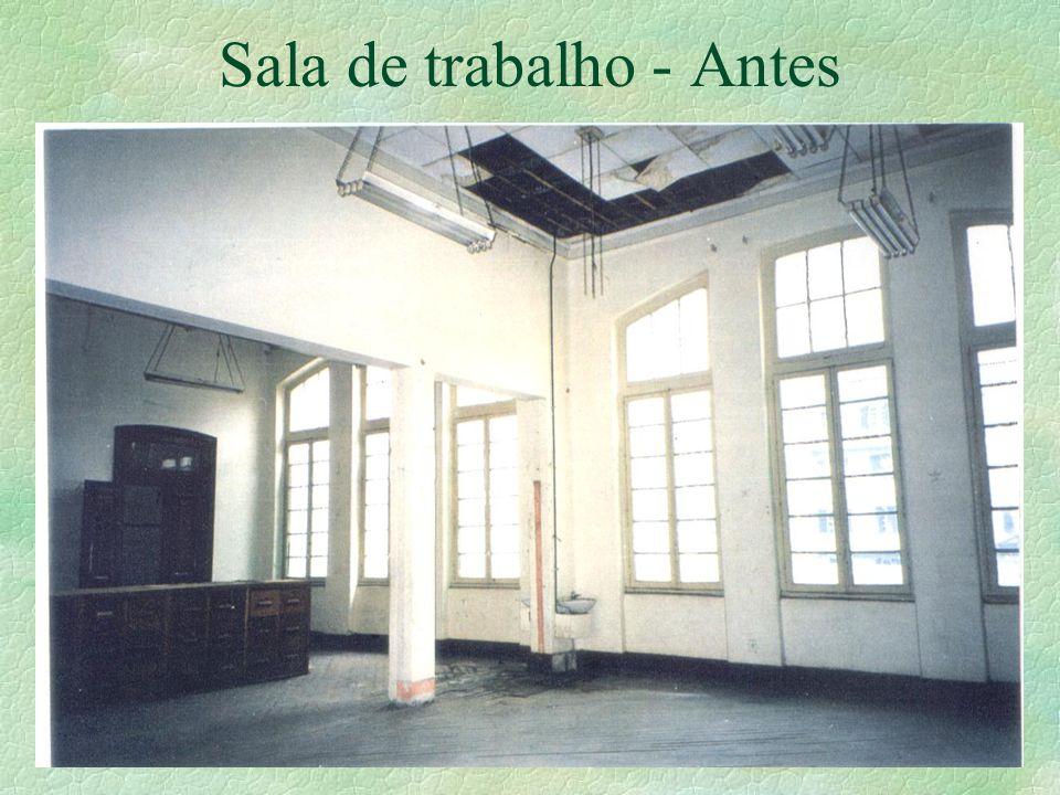 Sala de trabalho - Antes