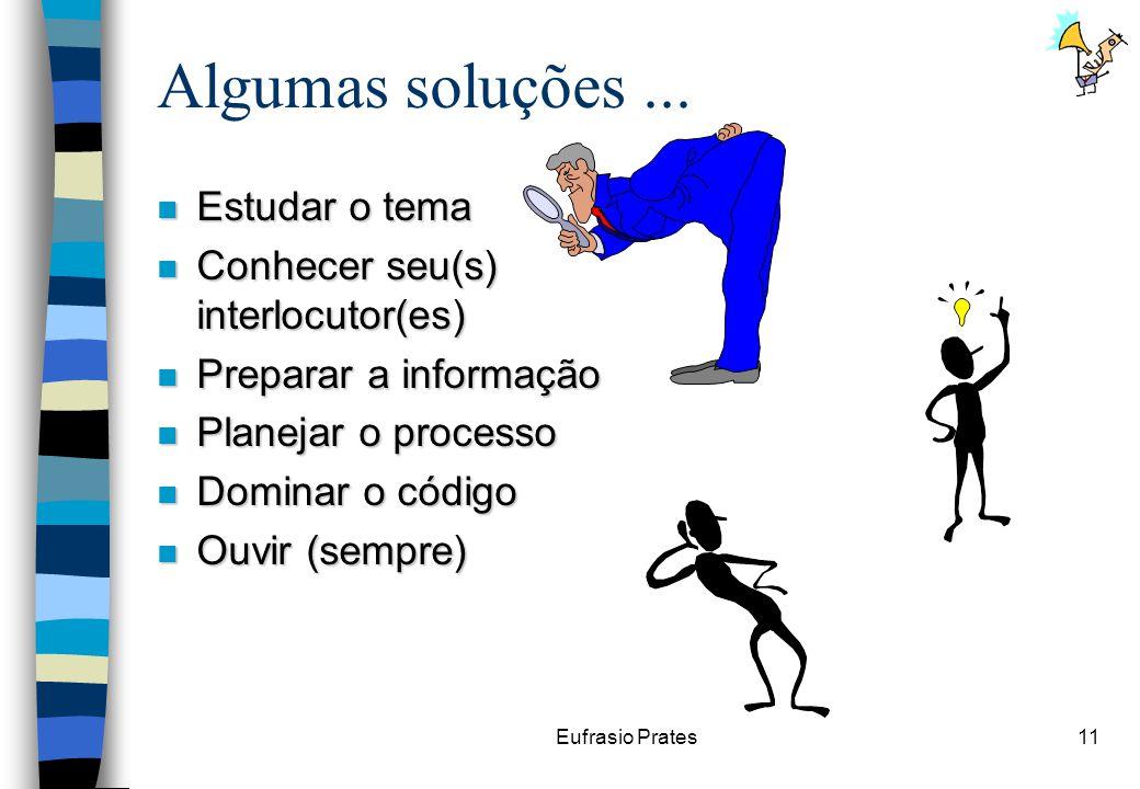 Eufrasio Prates11 Algumas soluções...