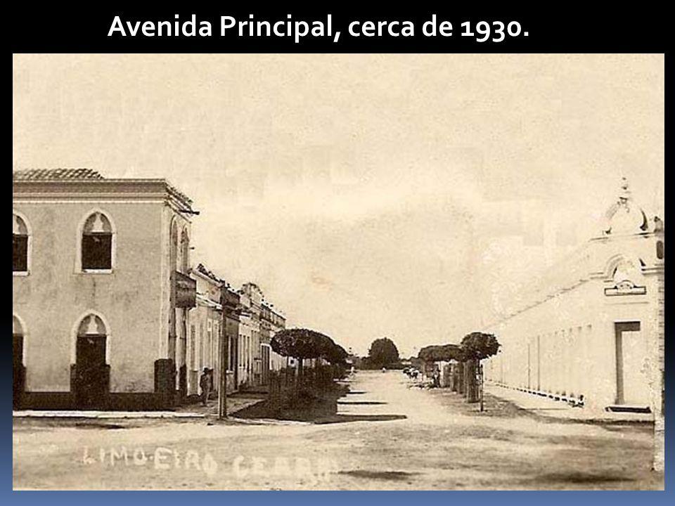 Avenida Principal, cerca de 1930.