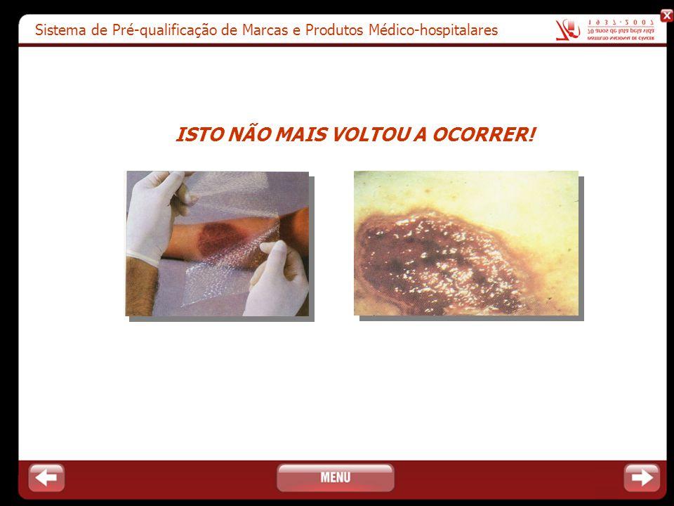 Sistema de Pré-qualificação de Marcas e Produtos Médico-hospitalares ISTO NÃO MAIS VOLTOU A OCORRER!