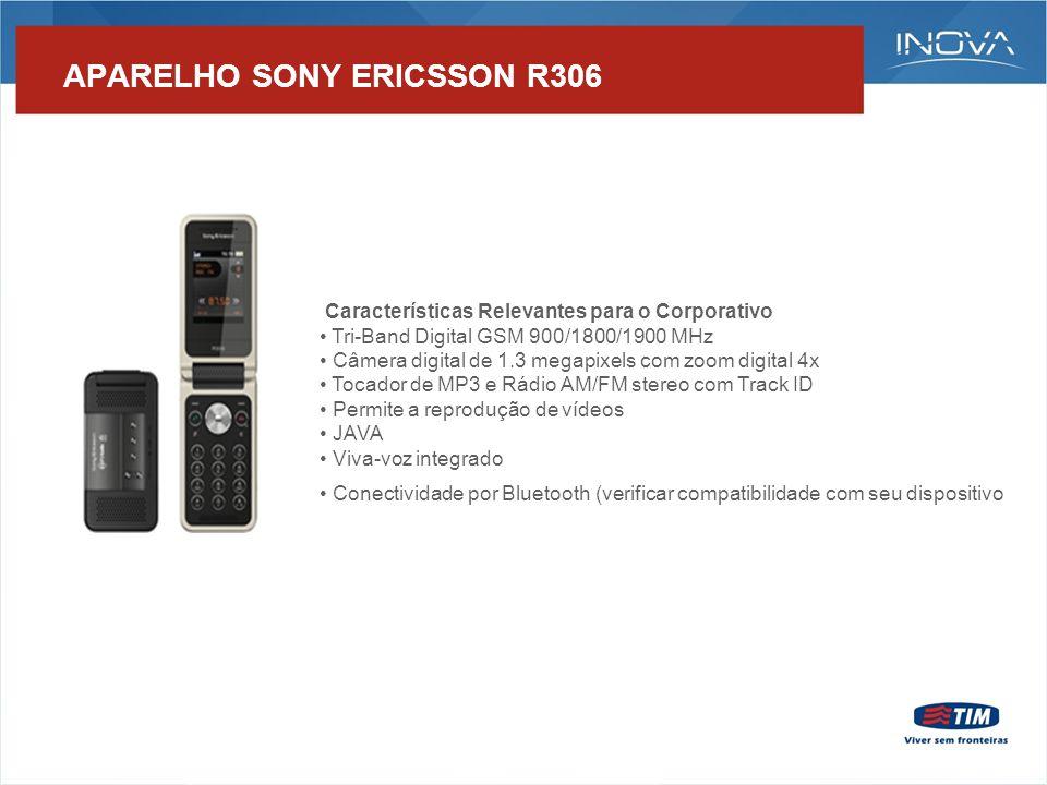 APARELHO – NOKIA 5220 Características Relevantes para o Corporativo - Tri-Band Digital GSM 900/1800/1900 MHz - Conteúdo Exclusivo High School Musical 3 - MP3 Player - Rádio FM stereo - Memória expansível com cartão de memória Micro SD - Câmera Digital integrada de 2 Megapixels - Visualização de e-mails - Permite gravação, reprodução e envio de vídeos curtos para outros celulares - Conectividade por Bluetooth (verificar compatibilidade com seu dispositivo)