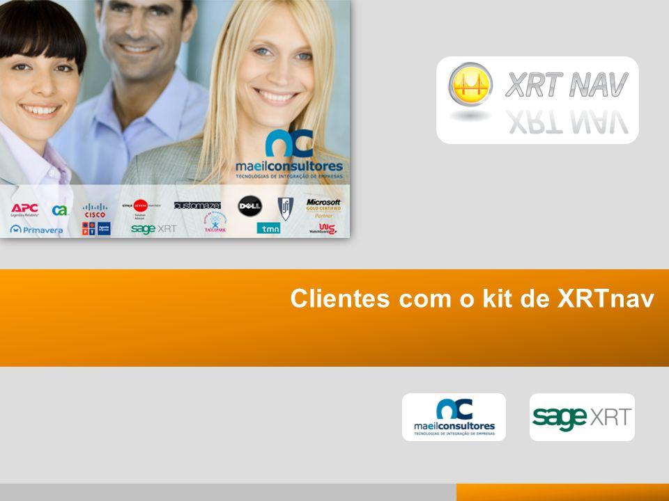 Clientes com o kit de XRTnav