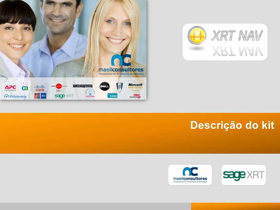 6 6 Presentación Kit de XRTnav 2009 Descrição do kit Página principal »Acessível pelo computador do utilizador