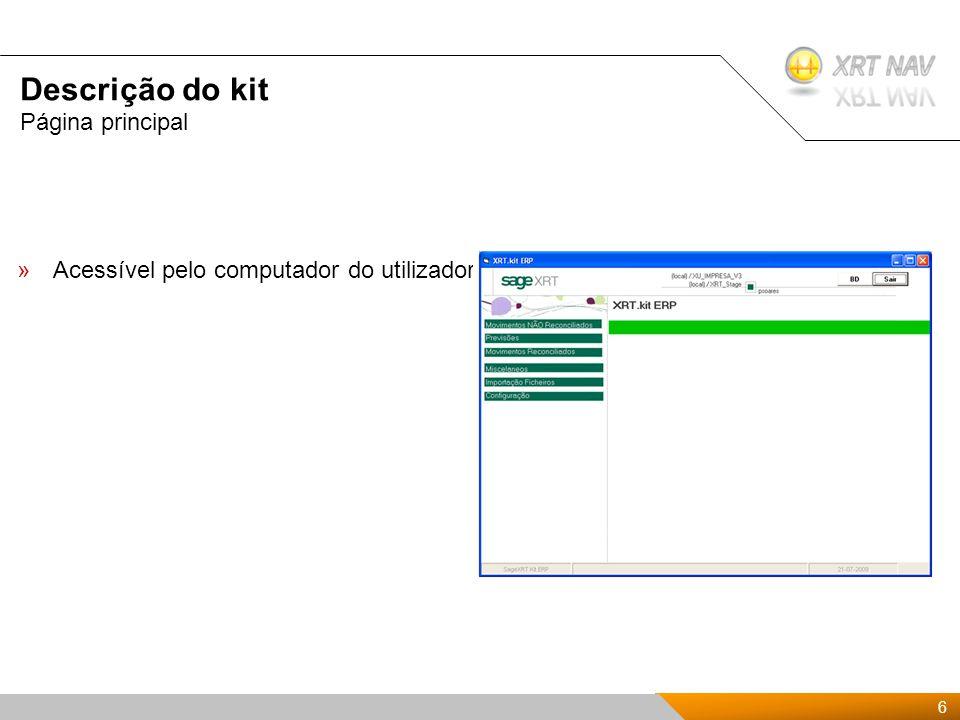 17 Presentación Kit de XRTnav 2009 Indústria Data de implementação InmobiliariaJaneiro 2009 AudiovisualJulho 2009 Salud/MedicinaOutubro 2009 Clientes com o Kit