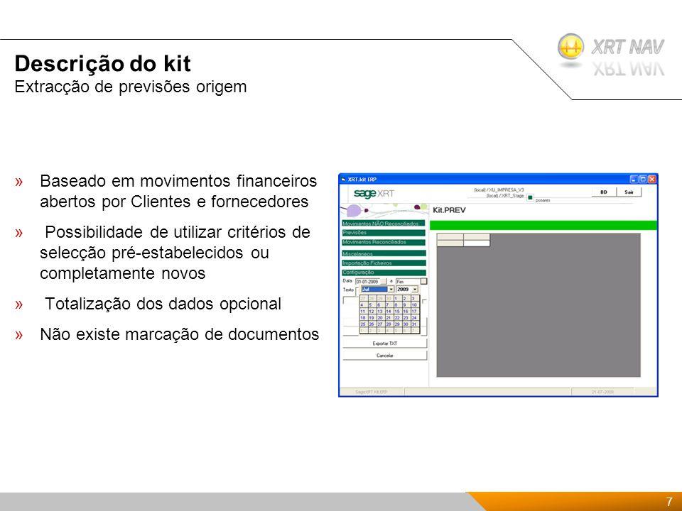 18 Presentación Kit de XRTnav 2009 Perguntas, dúvidas…