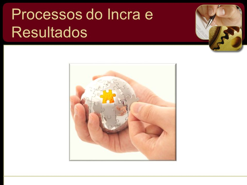Processos do Incra e Resultados