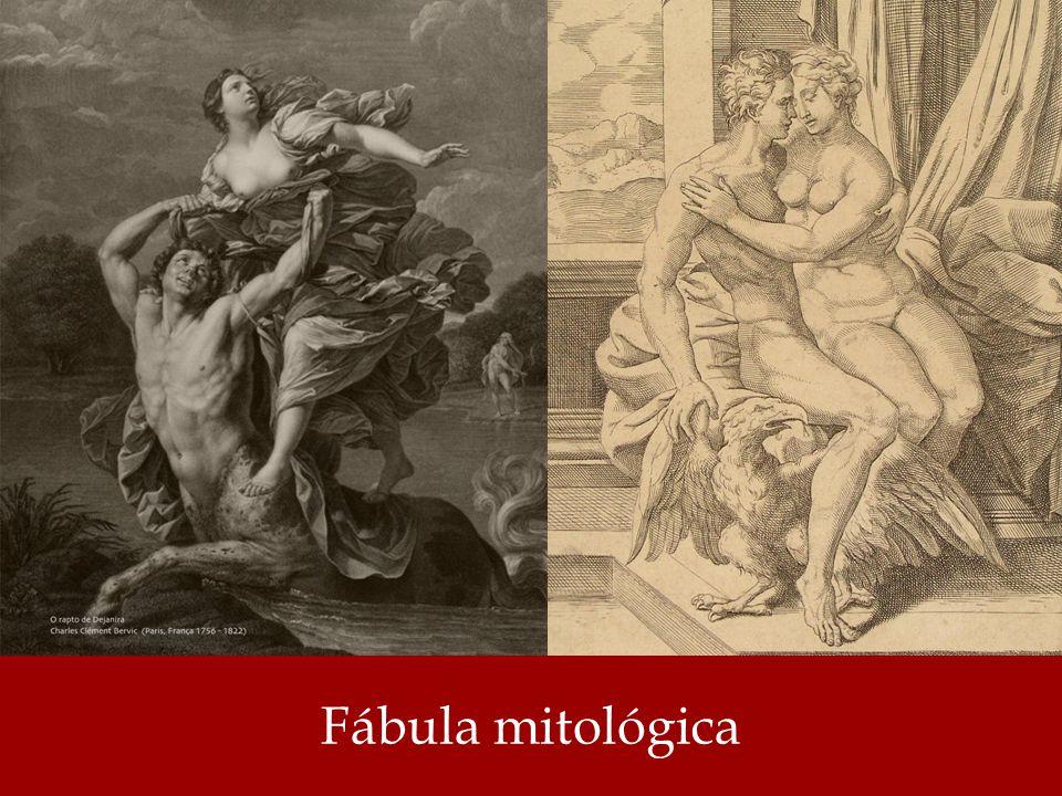 Há uma forma de fábula, de cunho mitológico, significando uma história narrada das ações dos deuses e heróis greco- romanos; mitologia (HOUAISS, 2001).