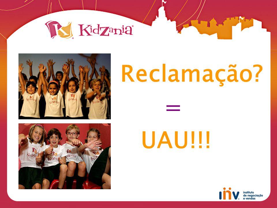 Reclamação = UAU!!!