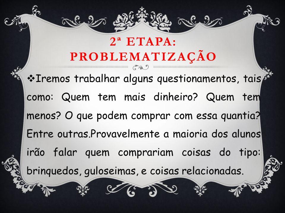 TRABALHANDO COM O DINHEIRO