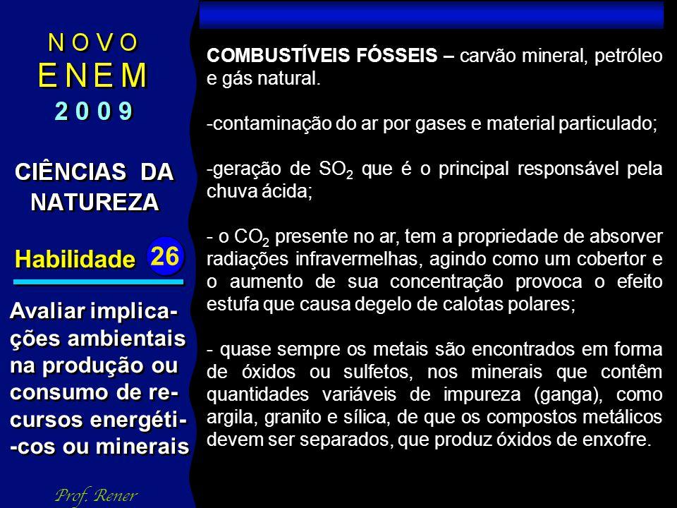 Habilidade 26 TESTE 04 Prof.