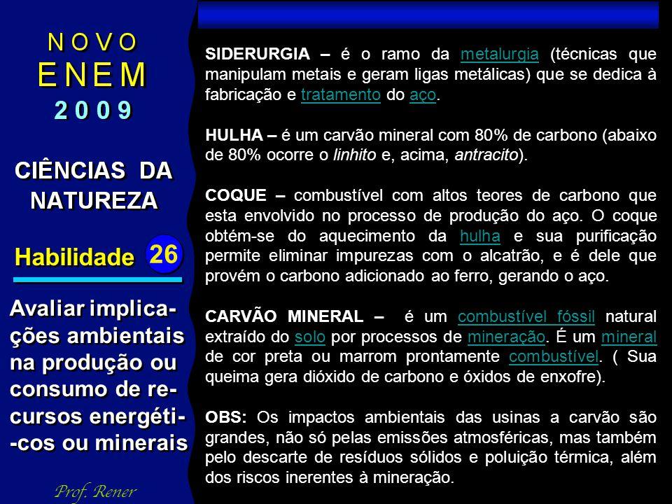 Habilidade 26 TESTE 05 Prof.