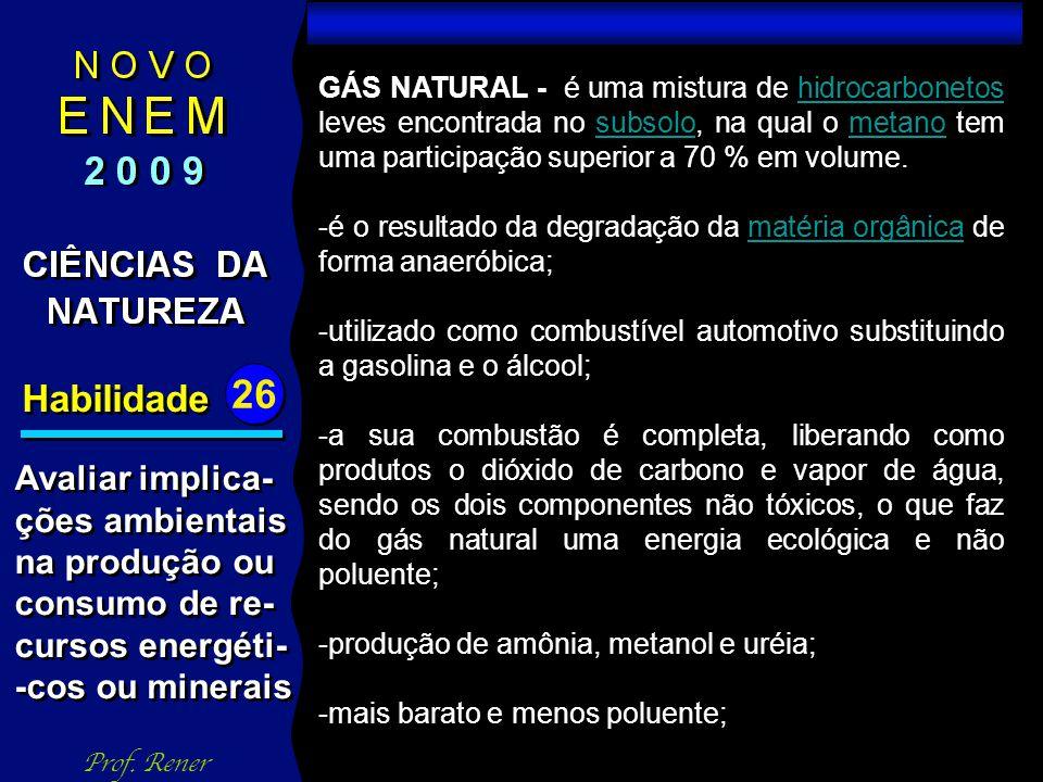 Habilidade 26 TESTE 01 Prof.