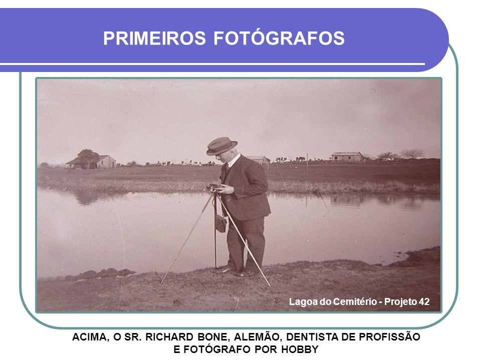 HOJE SÃO DESCONHECIDOS OS PRIMEIROS FOTÓGRAFOS A REGISTRAREM IMAGENS DE CRUZ ALTA, MAS PROVAVELMENTE FORAM FORASTEIROS A FOTOGRAFIA EM CRUZ ALTA