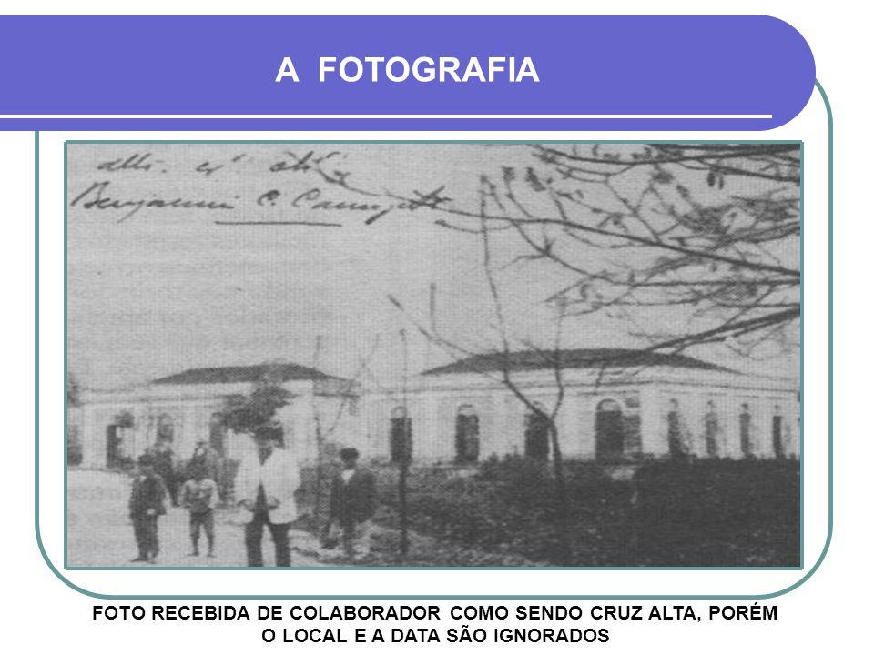 FOTO RECEBIDA DE COLABORADOR COMO SENDO CRUZ ALTA, PORÉM O LOCAL E A DATA SÃO IGNORADOS