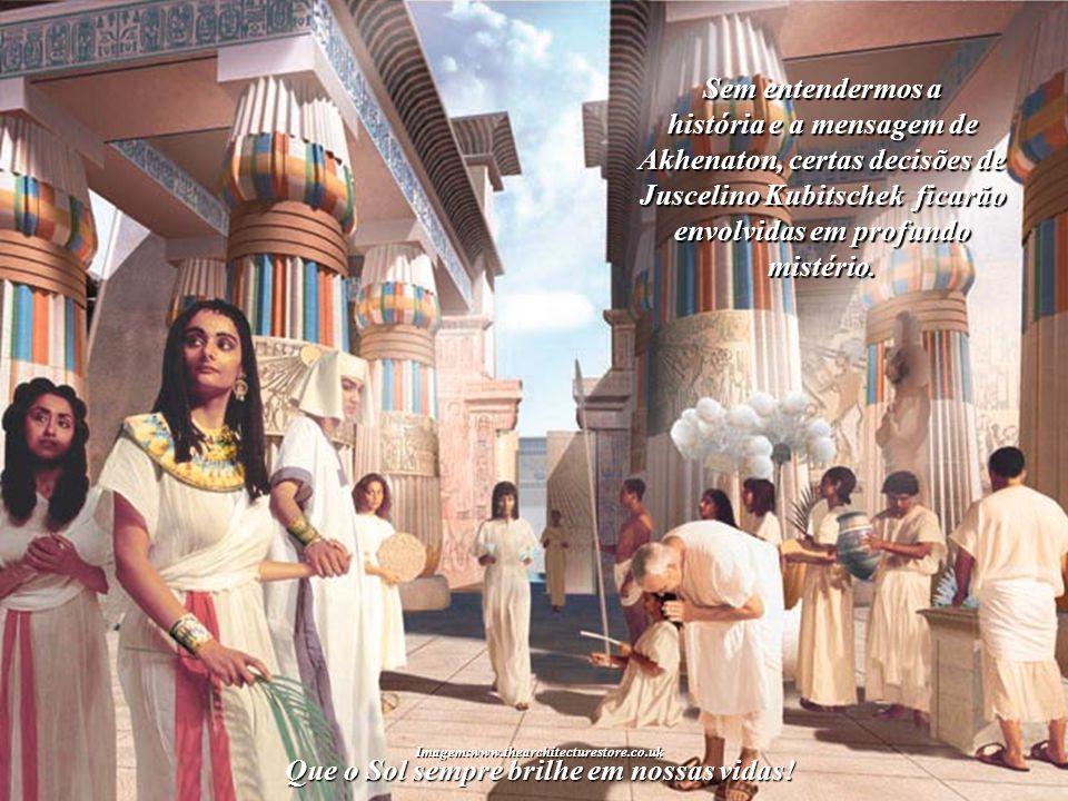 São explicações que poucos compre- enderam até agora, pois, para isso, é neces- sário conhecer a fascinante história do pró- prio Faraó Akhenaton.