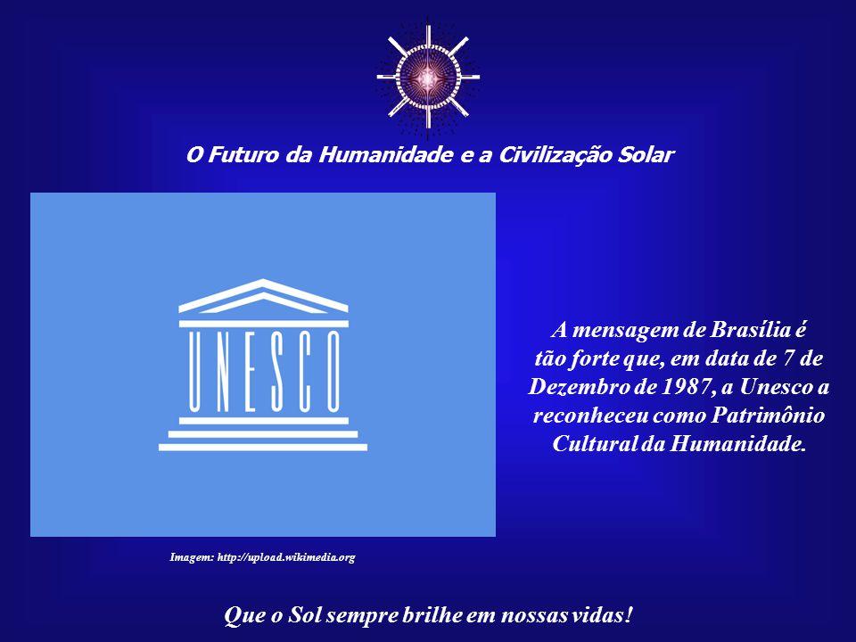 ☼ O Futuro da Humanidade e a Civilização Solar Que o Sol sempre brilhe em nossas vidas! Uma parte significativa da história do século XX foram as inúm