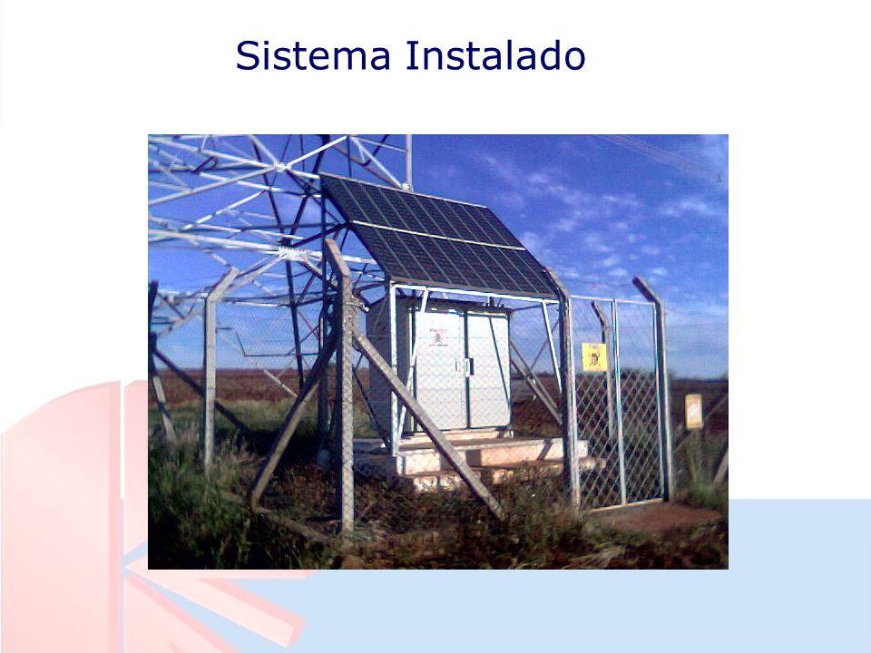 Sistema Instalado