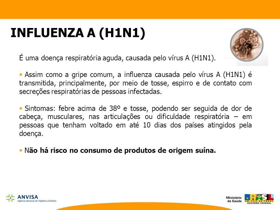É uma doença respiratória aguda, causada pelo vírus A (H1N1).  Assim como a gripe comum, a influenza causada pelo vírus A (H1N1) é transmitida, princ