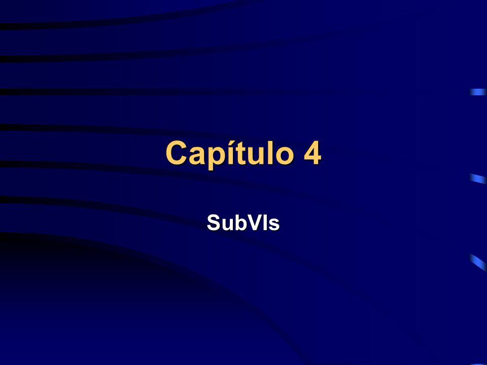 Capítulo 4 SubVIs