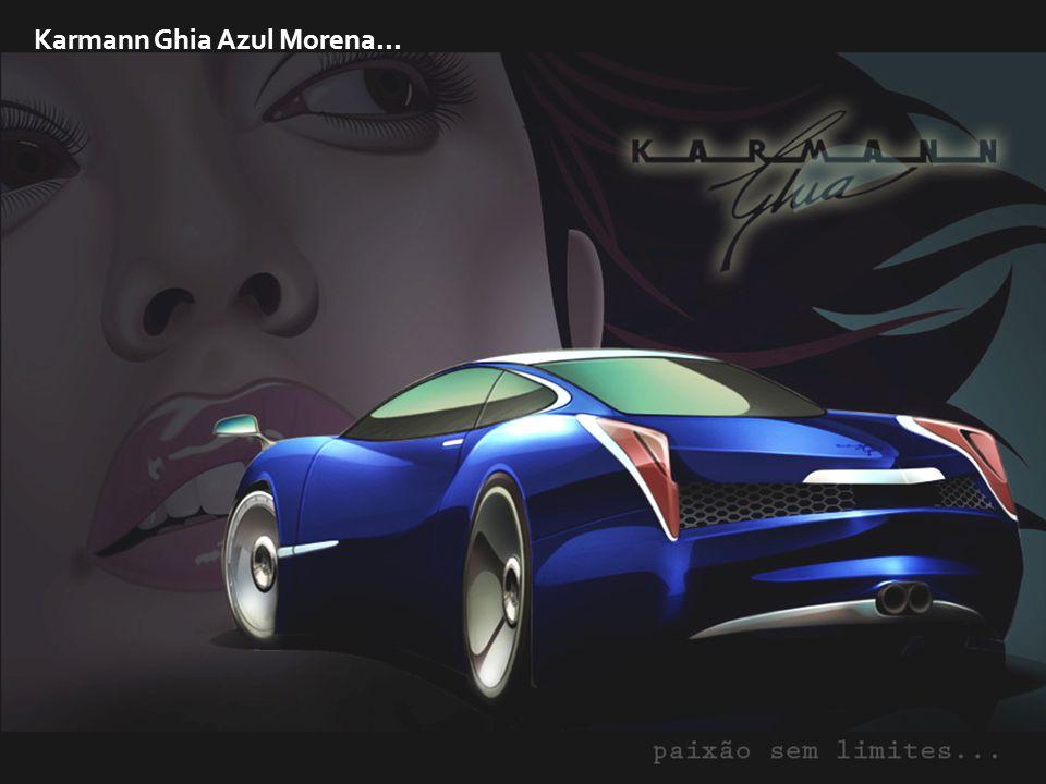Karmann Ghia Azul Morena...