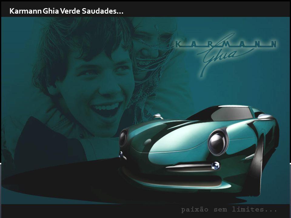 Karmann Ghia Verde Saudades...