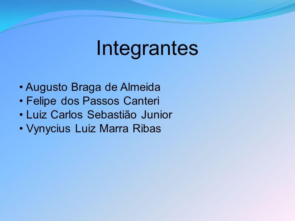 Integrantes Augusto Braga de Almeida Felipe dos Passos Canteri Luiz Carlos Sebastião Junior Vynycius Luiz Marra Ribas