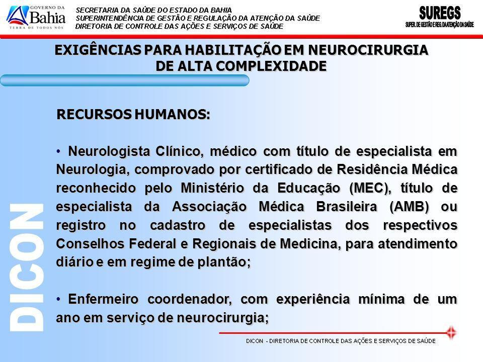 Neurologista Clínico, médico com título de especialista em Neurologia, comprovado por certificado de Residência Médica reconhecido pelo Ministério da
