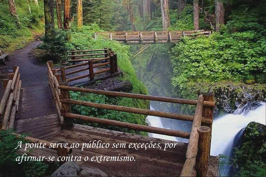 O rio atinge os seus objetivos porque aprendeu a contornar obstáculos.