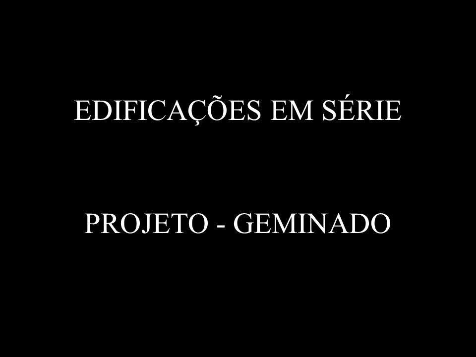 EDIFICAÇÕES EM SÉRIE PROJETO - GEMINADO