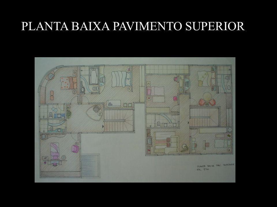PLANTA BAIXA PAVIMENTO SUPERIOR