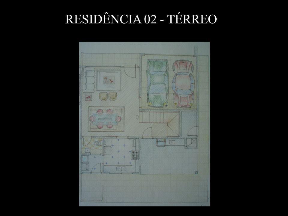 RESIDÊNCIA 02 - TÉRREO