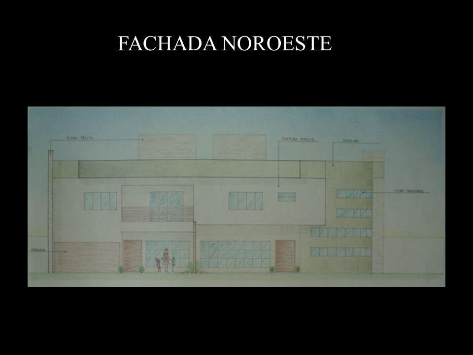FACHADA NOROESTE