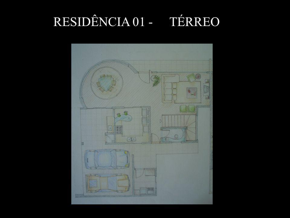 RESIDÊNCIA 01 - TÉRREO