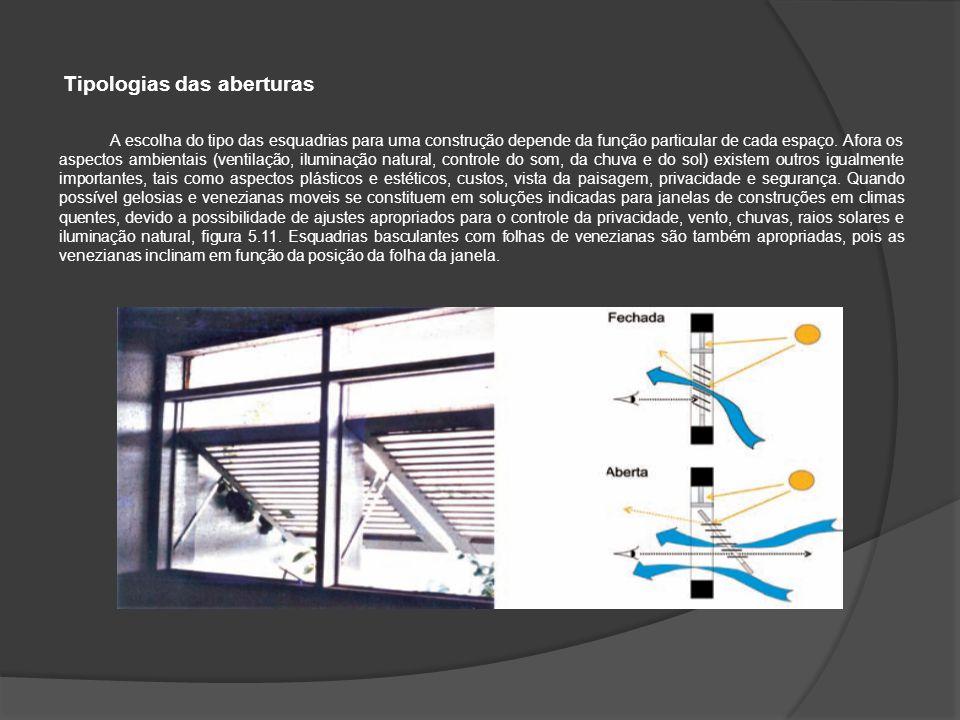  O átrio central do edifício proporciona o uso do efeito chaminé para a ventilação natural