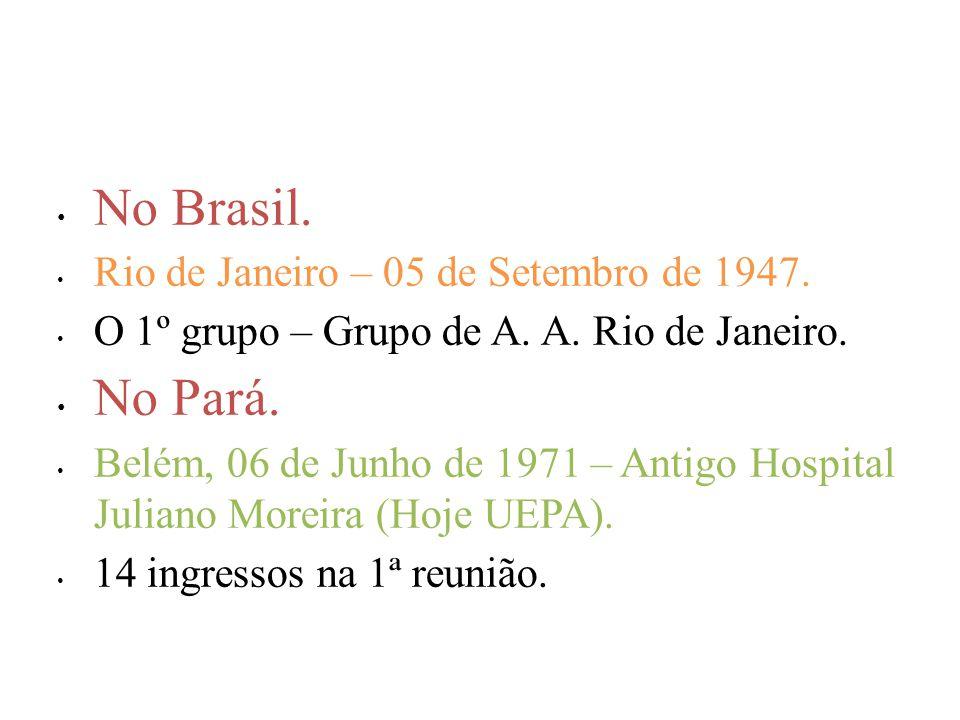 No Brasil.Rio de Janeiro – 05 de Setembro de 1947.
