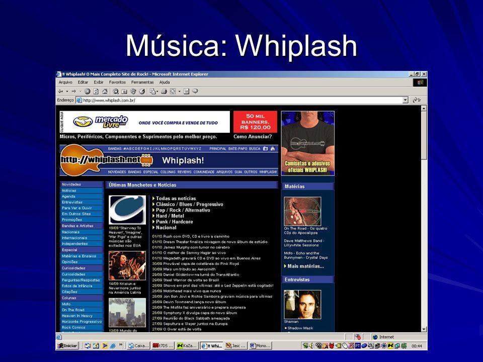Música: Whiplash