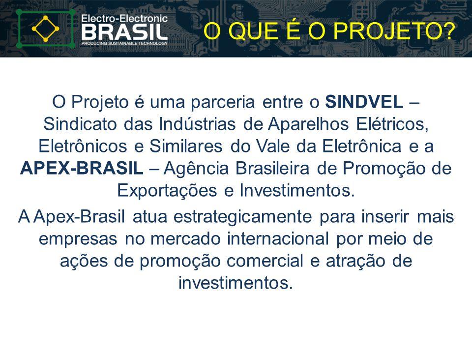 NEGÓCIO Promover a internacionalização do setor eletroeletrônico brasileiro.