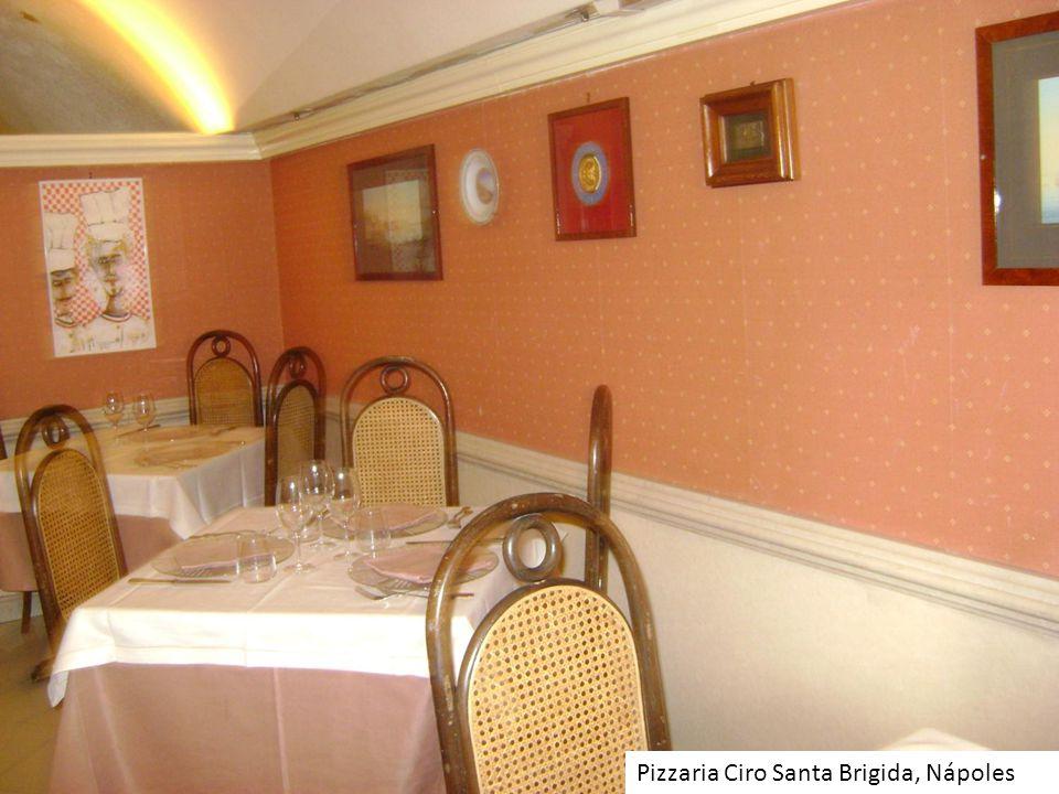 Pizzaria Ciro Santa Brigida, Nápoles