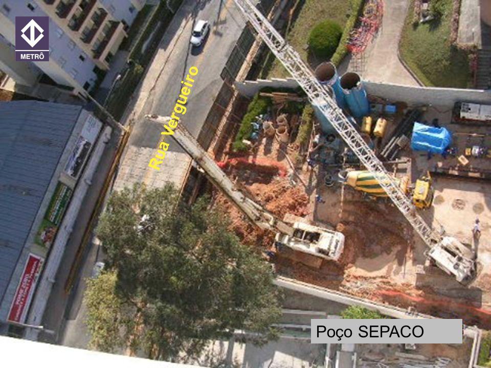 20 ANOS METRORECRecife 21/jun/2005 Poço Sepaco Poço SEPACO Rua Vergueiro