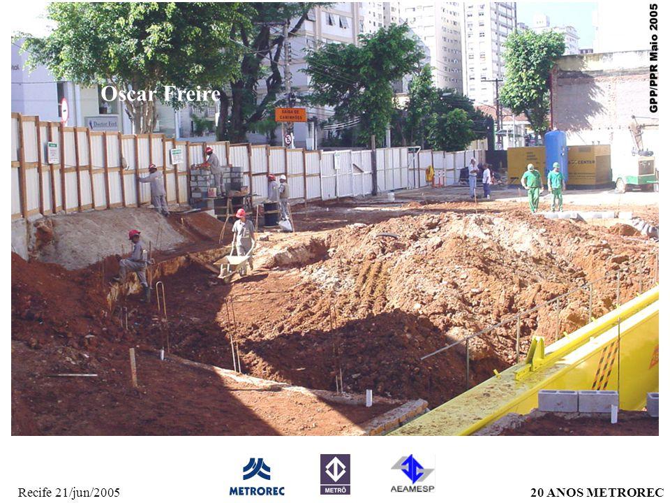 20 ANOS METRORECRecife 21/jun/2005 Oscar Freire