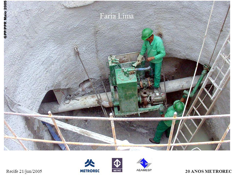 20 ANOS METRORECRecife 21/jun/2005 Faria Lima