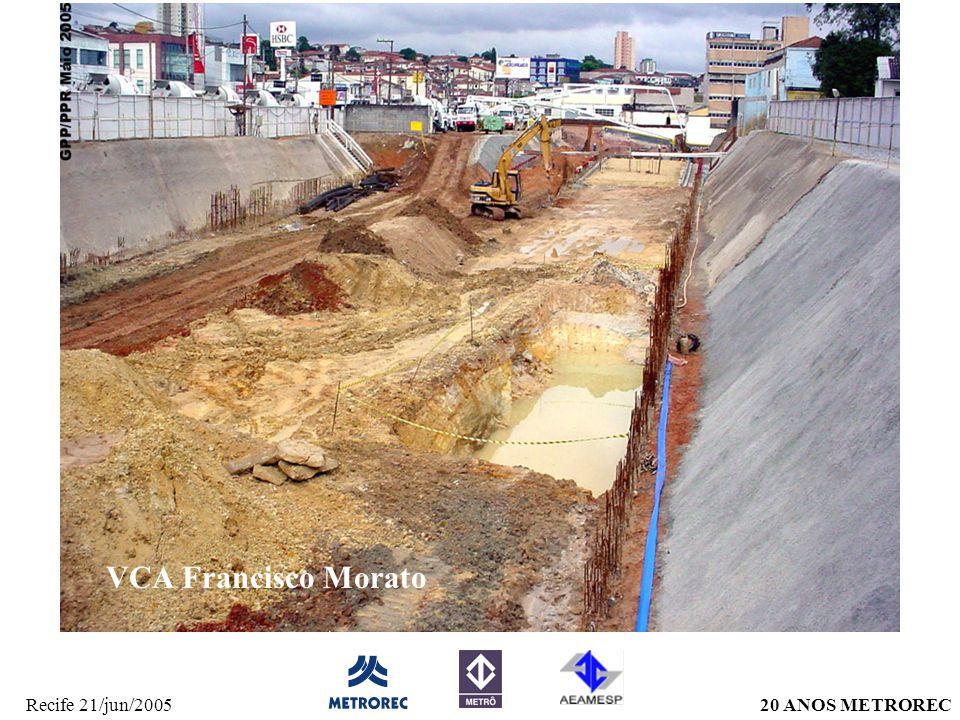 20 ANOS METRORECRecife 21/jun/2005 VCA Francisco Morato
