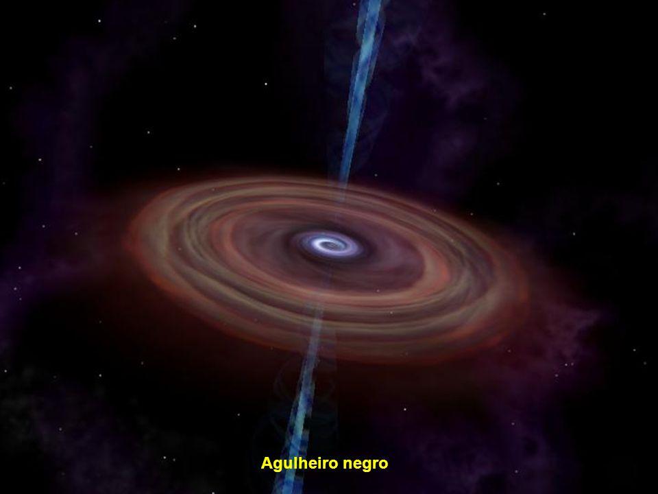 Via Láctea (assinalado o nosso Sol, nosso bairro cósmico)